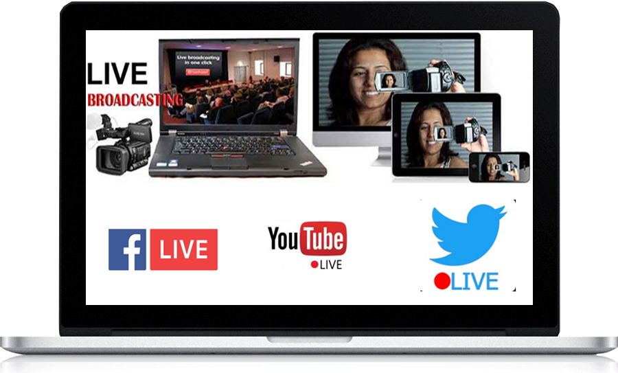 Live Streaming in Mumbai, Best Live Streaming Company in India, Youtube Live video service Mumbai, Facebook Live video Services